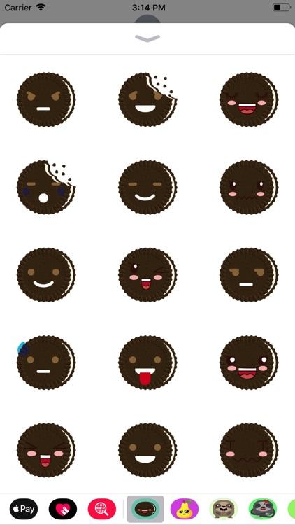banh quy emoji sticker