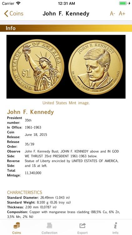 1$ Coin Programs