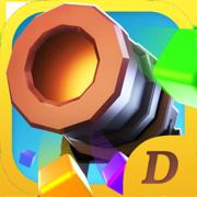 火炮弹射:放置消砖块解压游戏