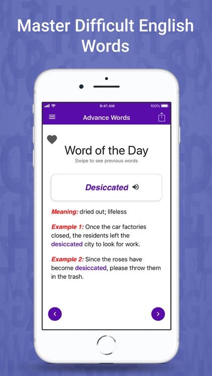 Learn English One Word a Day screenshot-8