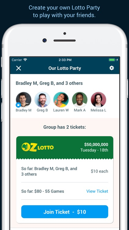 Oz Lotteries screenshot-5