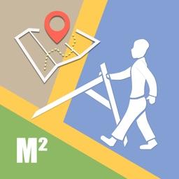 Planimeter Area Measure Map