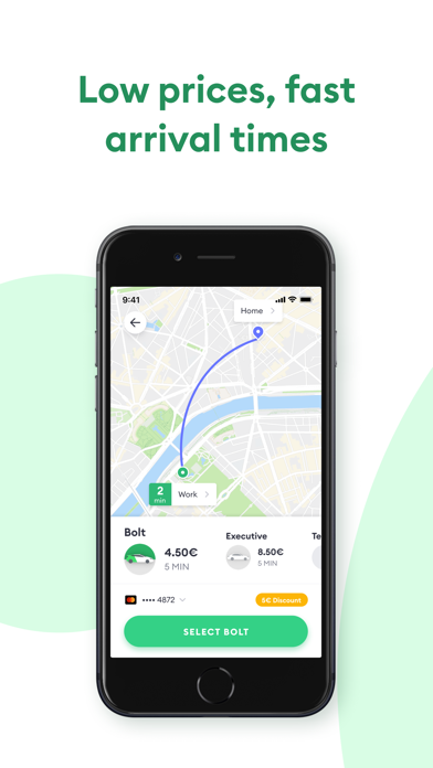 Screenshot for Bolt (Taxify) in China App Store