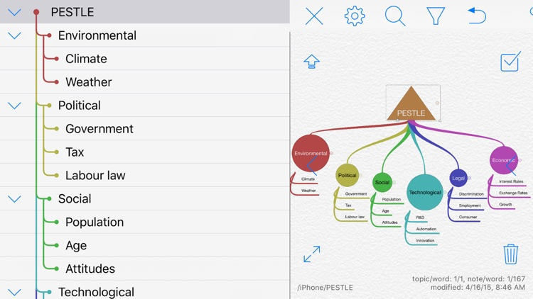 iThoughts2go - Mind Map screenshot-6
