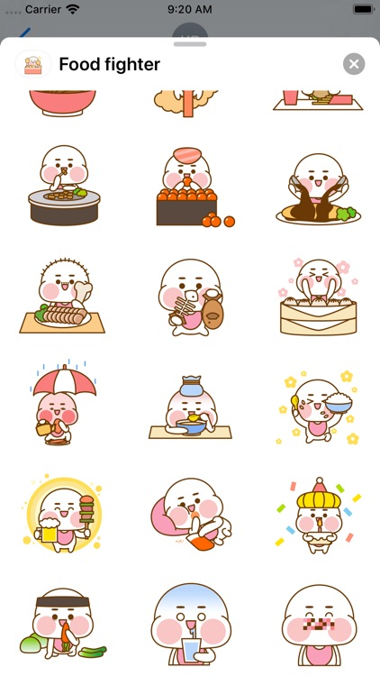 Food fighter - Sticker