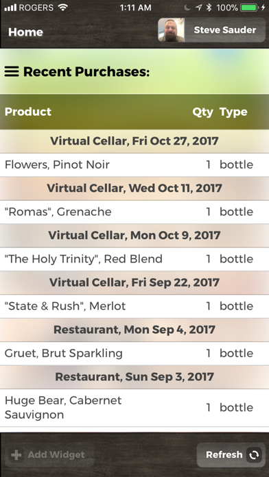 Virtual Cellar screenshot three