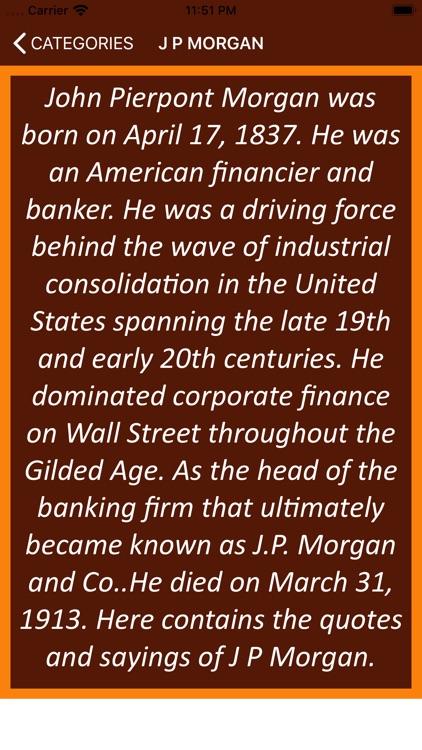 J P Morgan Wisdom screenshot-3
