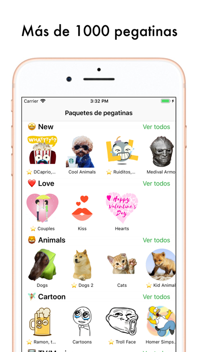 Screenshot for Top Pegatinas Sticker Maker in Colombia App Store