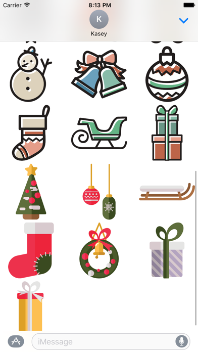Christmas Stickers Pack screenshot two