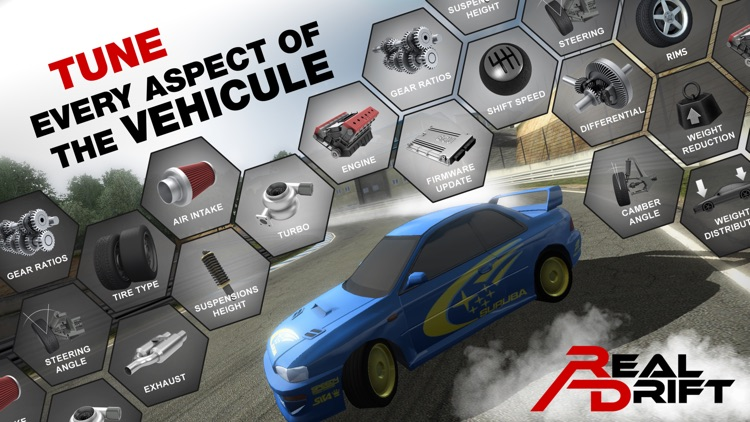 Real Drift Car Racing Lite screenshot-4