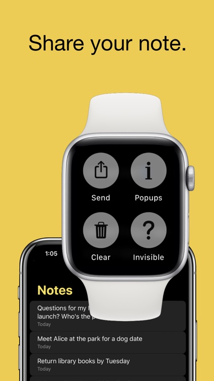 FlickType Watch Notes screenshot-3