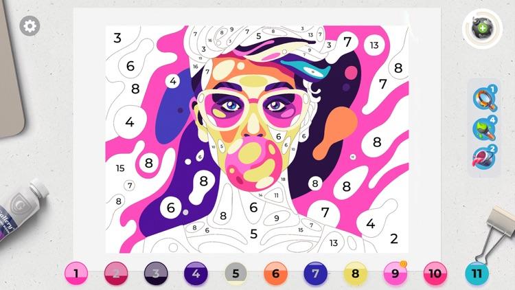 Gallery: Coloring Book & Decor screenshot-6