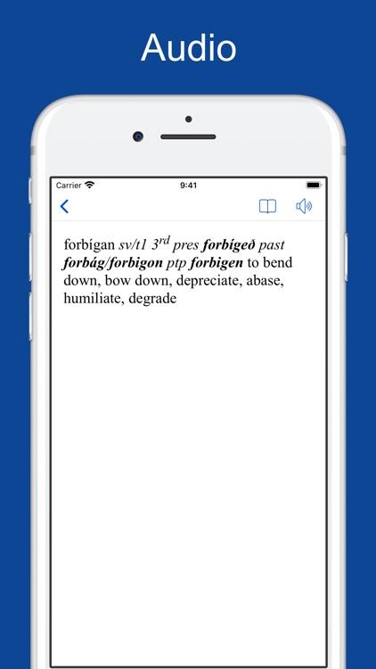 English-Old English Dictionary screenshot-5