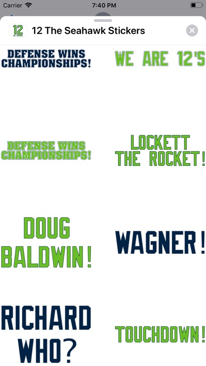 12 The Seahawk Stickers screenshot-4