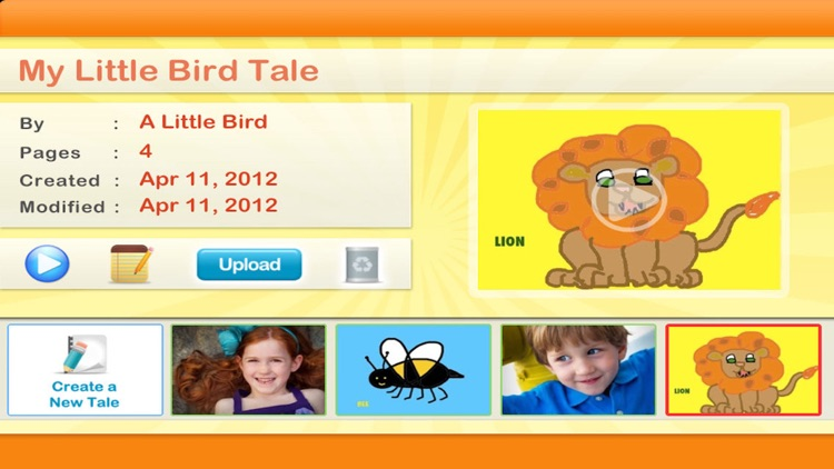 Little Bird Tales StoryTelling screenshot-0