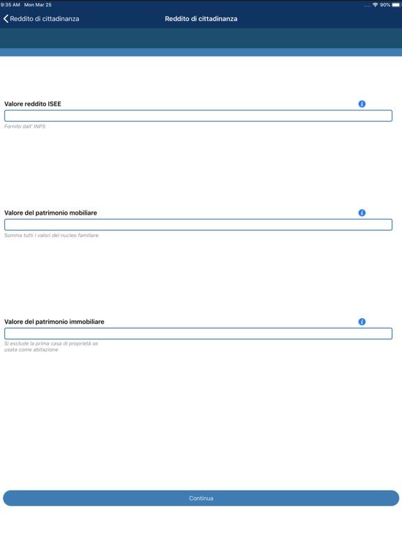 Reddito di Cittadinanza screenshot #3