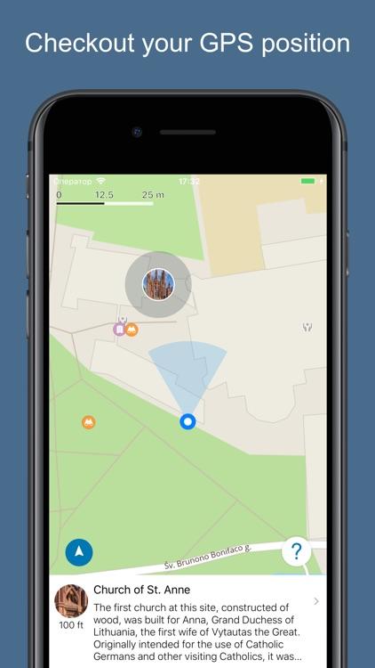 Vilnius 2020 — offline map screenshot-4