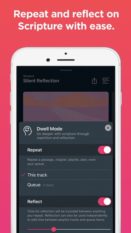 Dwell: Audio Bible screenshot-6