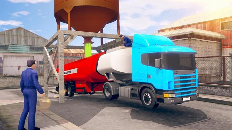 Futuristic Flying Truck Games screenshot-3