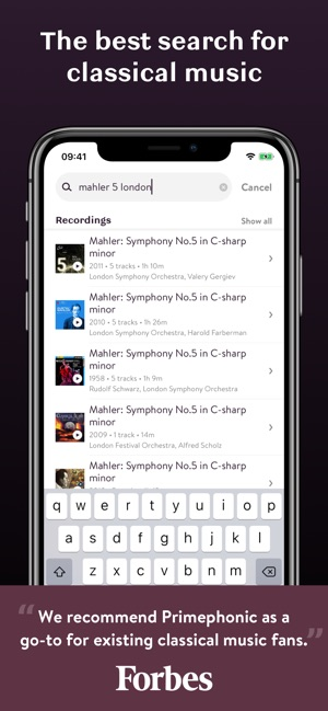 Primephonic - Classical Music on the App Store