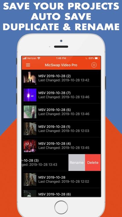MicSwap Video Pro Audio Editor screenshot-3