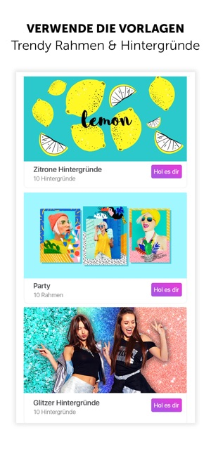 PicsArt Foto- und Video-Editor Screenshot