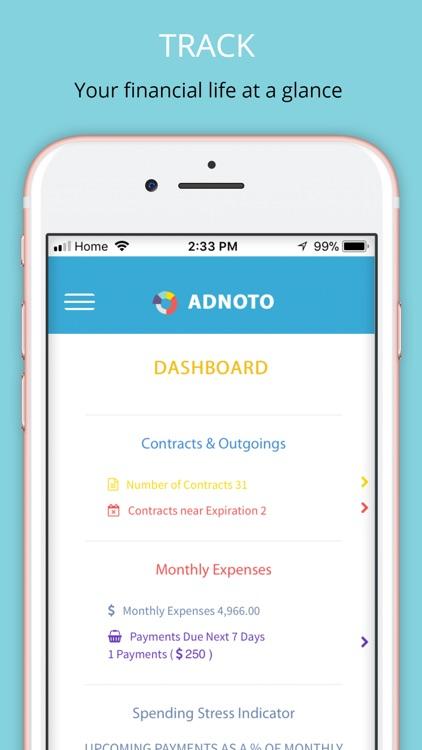 Adnoto Expense Manager screenshot-0