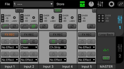 dspMixFx UR-C screenshot 6