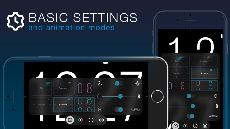 ClockPhone - big digital clock screenshot-3