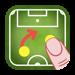 コーチ戦術的なボード-サッカー