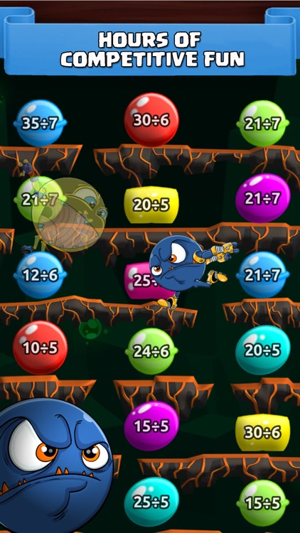 Math Duel Fun Kids Fight Games screenshot-2