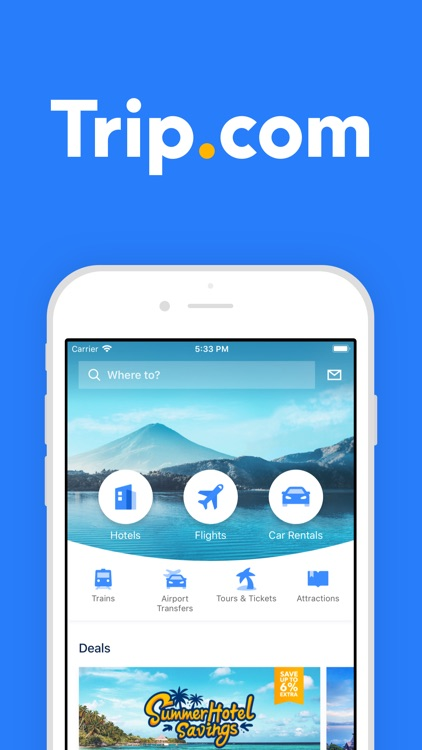 Trip.com: Flights & Hotels screenshot-0