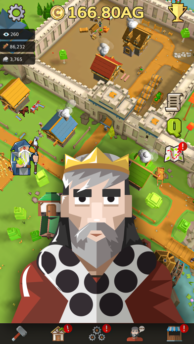 Medieval: Idle Tycoon Clicker screenshot two