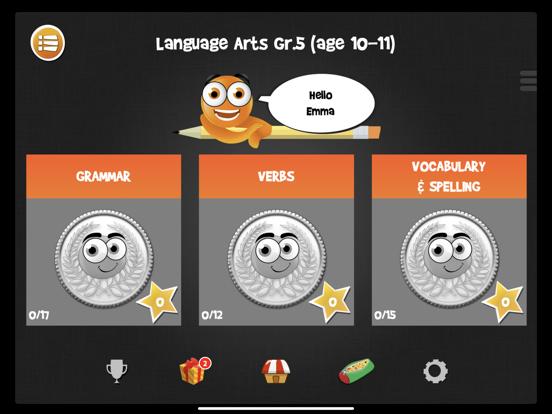 iTooch 5th Language Arts FULLのおすすめ画像1