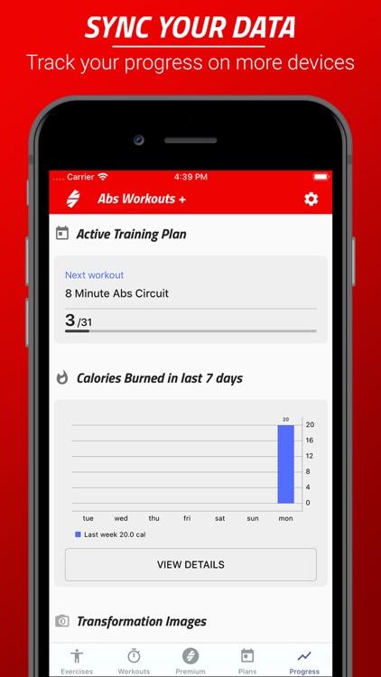 Six Pack Abs Workout Challenge screenshot-6