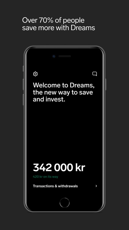 Dreams - Save to your goals