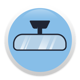 Rearview - prying eyes alarm app icon