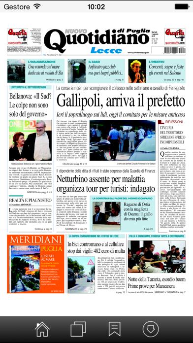 Quotidiano di Puglia screenshot four