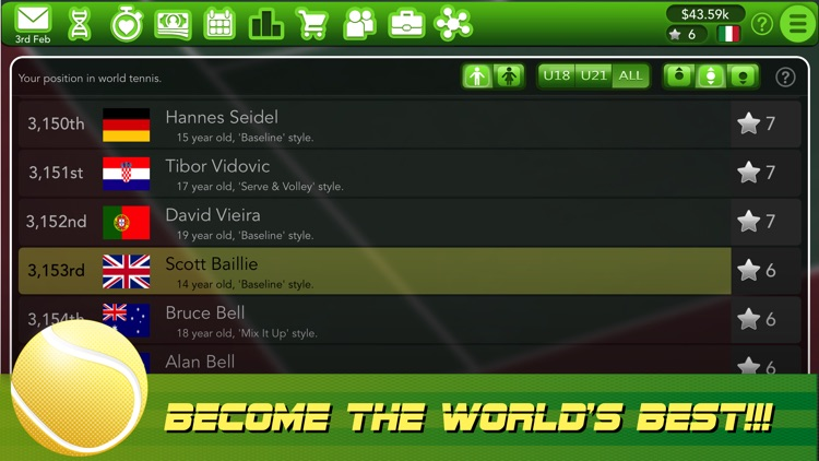 Tennis Superstar screenshot-4
