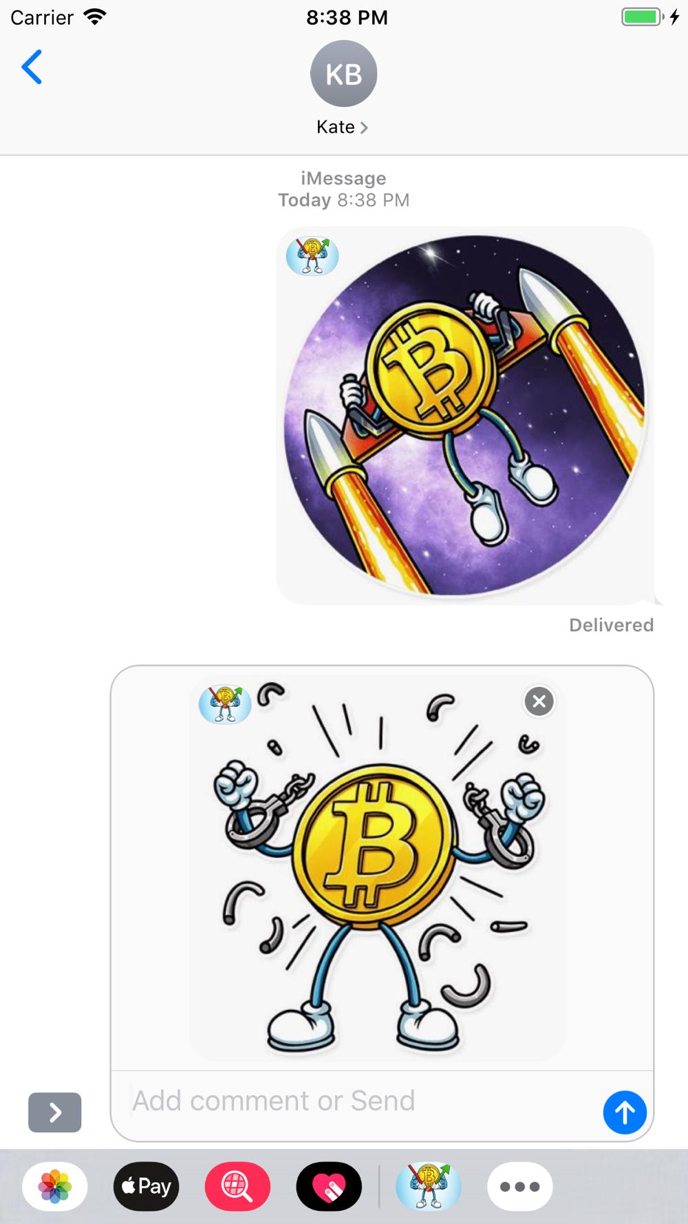 imessage bitcoin