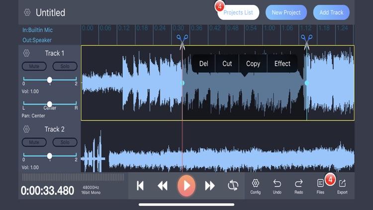 Audio Editor HD
