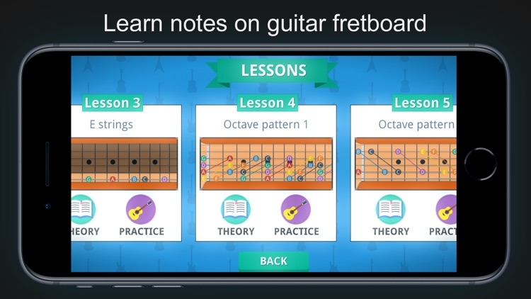 Guitar Notes - Fretboard Games screenshot-0