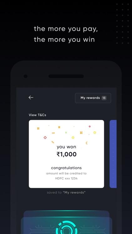 CRED - Pay credit card bills screenshot-3