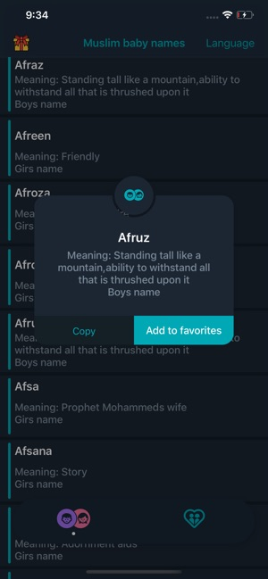 Muslim Baby Names And Meaning On The App Store