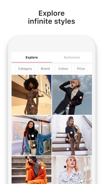 21 Buttons: Fashion Network screenshot-4