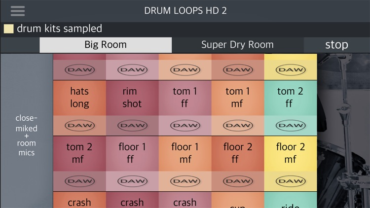 Drum Loops HD 2 screenshot-6