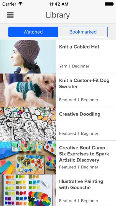 Creativebug Art,Drawing,Sewing screenshot two