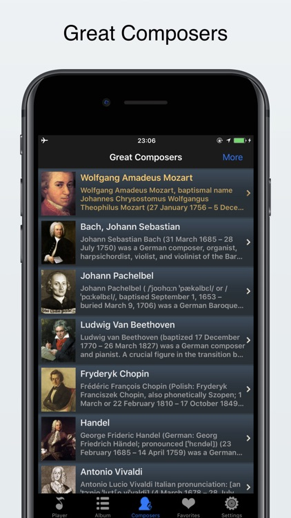 classical music offline player screenshot-1