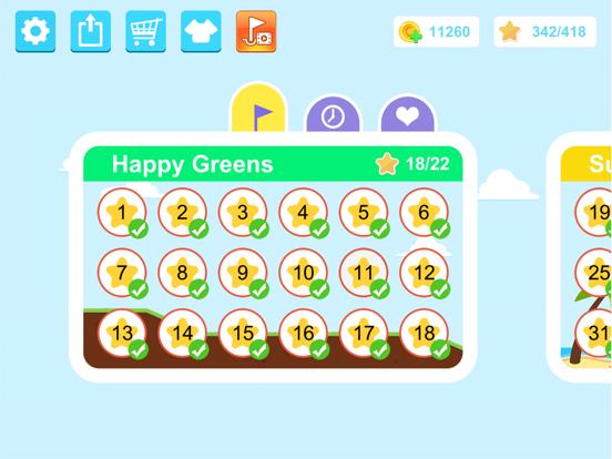 Happy Shots Golf screenshot 1