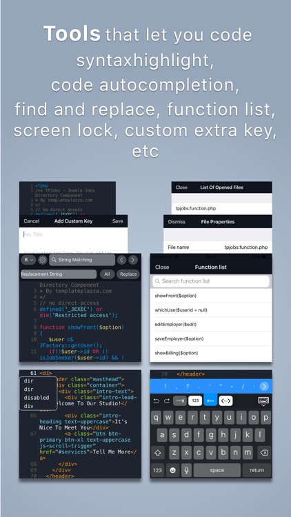 Koder Code Editor screenshot-3